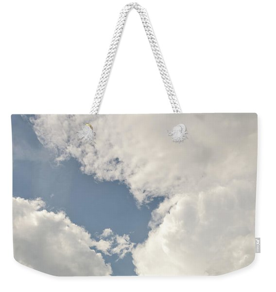 Rural White Church With A Cross Weekender Tote Bag