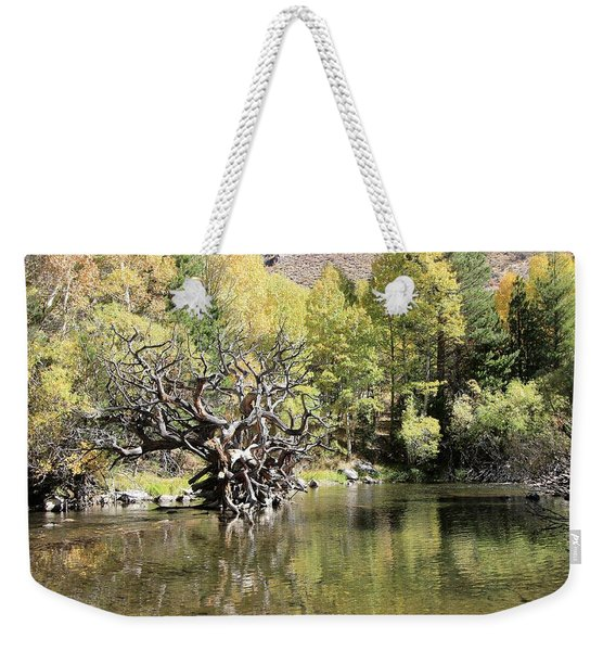 Weekender Tote Bag featuring the photograph Rush Creek In Autumn by Sean Sarsfield