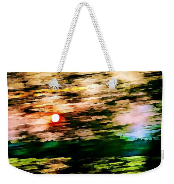 Rush To Go Home Weekender Tote Bag