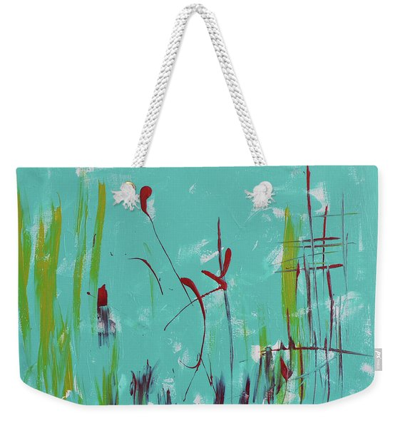 Rushes And Reeds Weekender Tote Bag