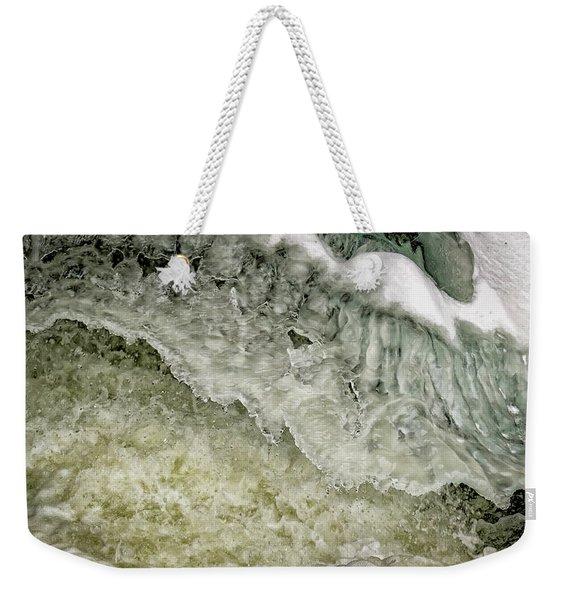Rushing Water Weekender Tote Bag
