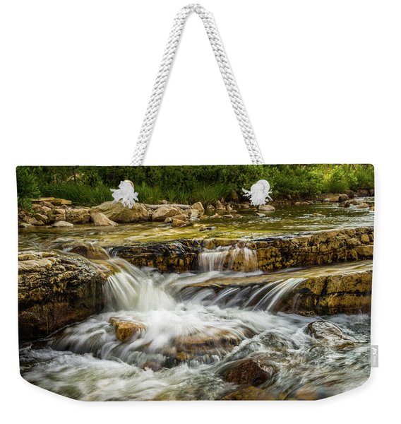 Rushing Waters - Upper Provo River Weekender Tote Bag