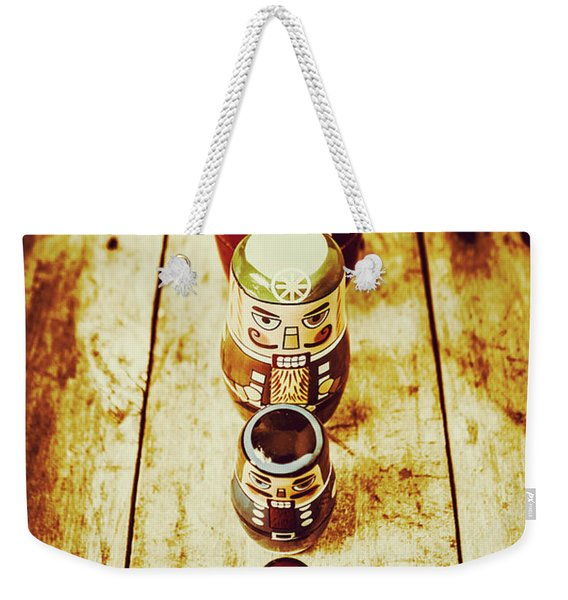 Russian Doll Art Weekender Tote Bag