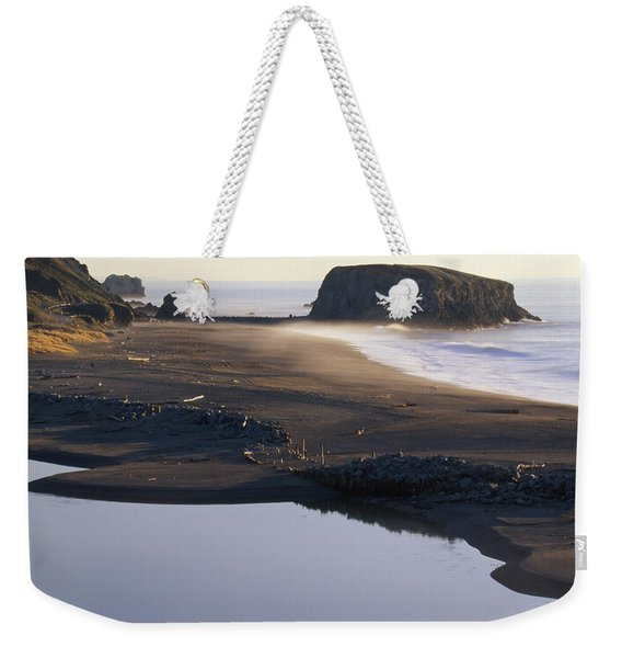Russian River And Goat Rock Weekender Tote Bag
