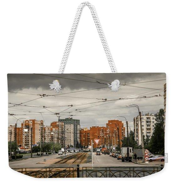 Russian Urban Life Weekender Tote Bag