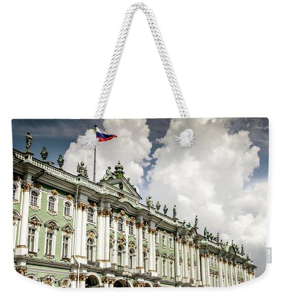Russian Winter Palace Weekender Tote Bag