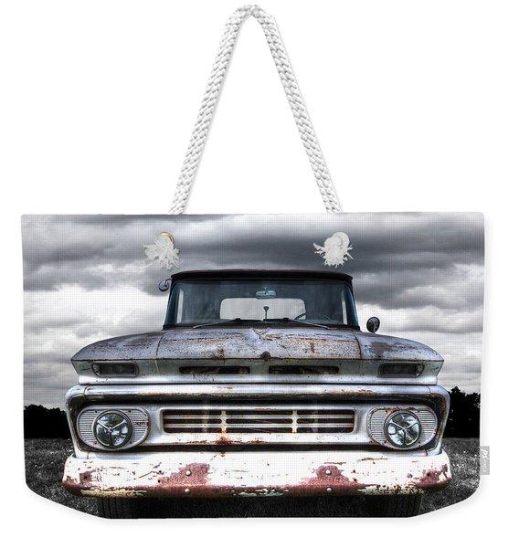 Rust And Proud - 62 Chevy Fleetside Weekender Tote Bag
