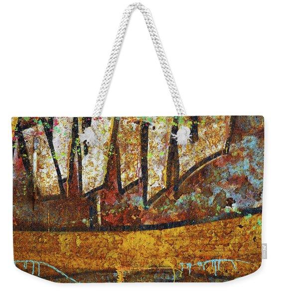 Rust Colors Weekender Tote Bag