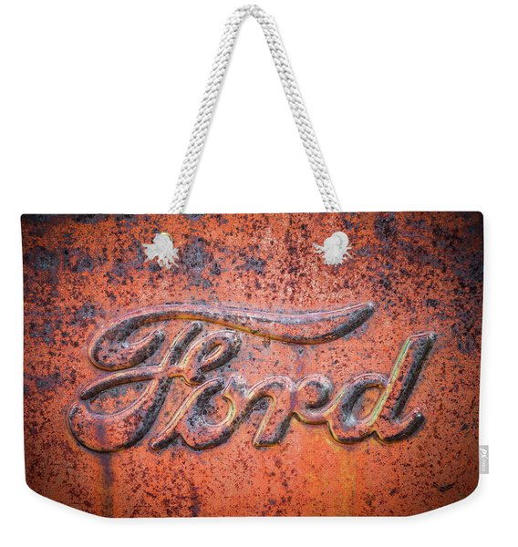 Rust Never Sleeps - Ford Weekender Tote Bag