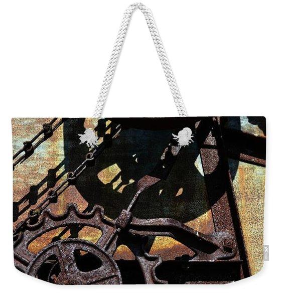 Rusted Gears 2.0 Weekender Tote Bag