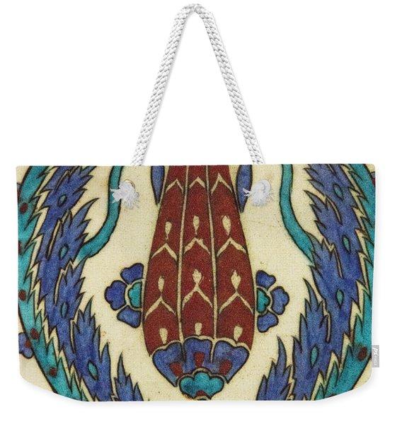 Rusten Pasha Tulip Tile Weekender Tote Bag