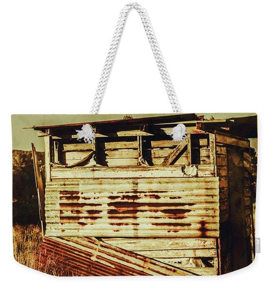 Rustic Abandonment Weekender Tote Bag
