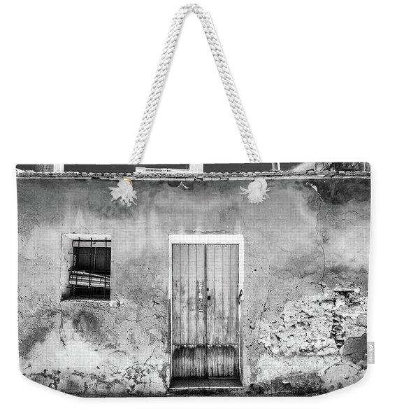 Rustic Building. Weekender Tote Bag