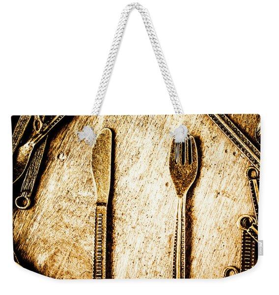 Rustic Catering Weekender Tote Bag
