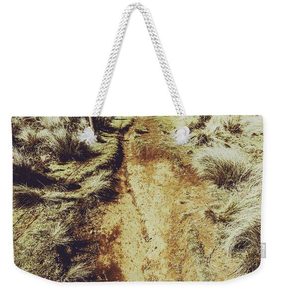Rustic Country Trails Weekender Tote Bag