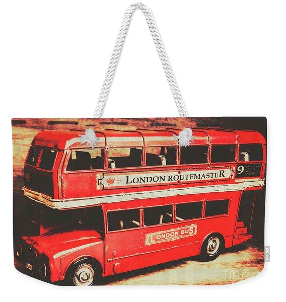 Rustic Routemaster Weekender Tote Bag