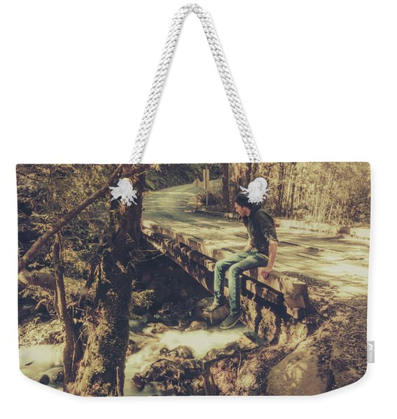 Rustic Rural Retreat Weekender Tote Bag