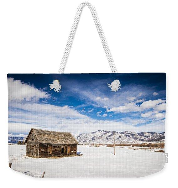 Rustic Shack Weekender Tote Bag