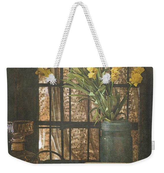 Rustic Still Life 1 Weekender Tote Bag