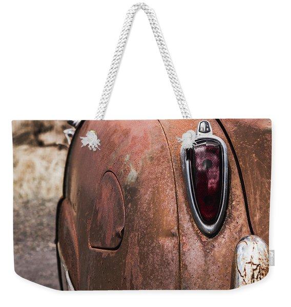 Rusting Away Weekender Tote Bag
