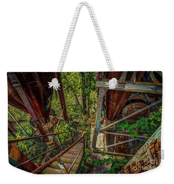 Rusty Climb Weekender Tote Bag