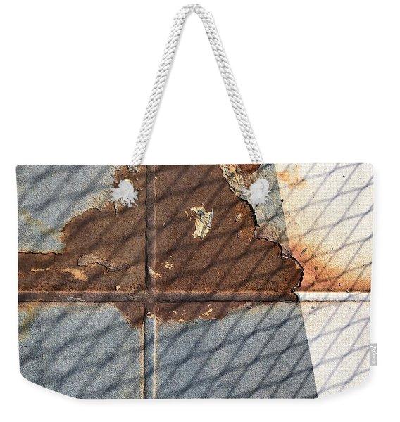 Rusty Cross Weekender Tote Bag