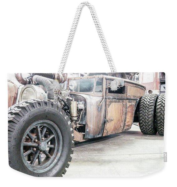 Rusty Crusty With Power Weekender Tote Bag