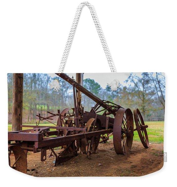 Rusty Farming Weekender Tote Bag