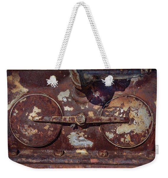 Rusty Gears Weekender Tote Bag