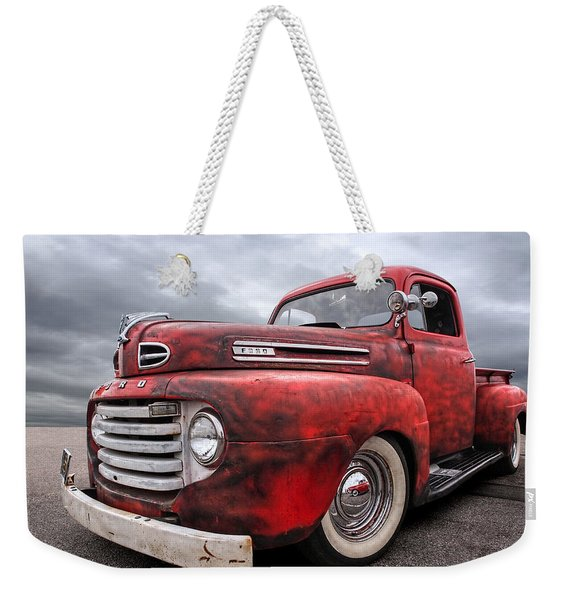 Rusty Jewel - 1948 Ford Weekender Tote Bag