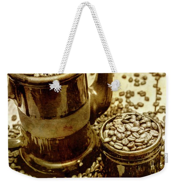 Rusty Old Cafe Still Life Artwork Weekender Tote Bag