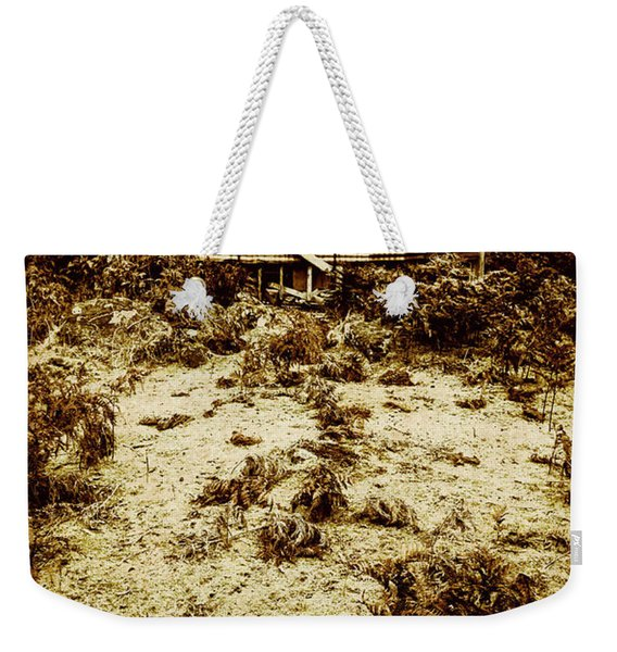 Rusty Rural Ramshackle Weekender Tote Bag