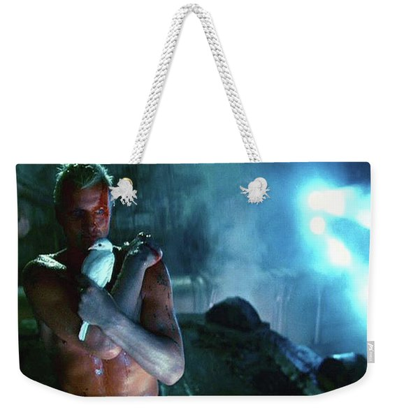 Rutger Hauer Number 2 Blade Runner Publicity Photo 1982 Color Added 2016 Weekender Tote Bag