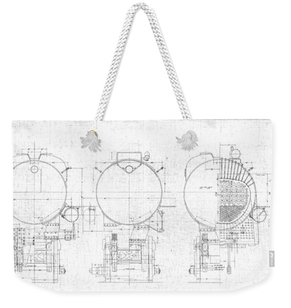 S-1a Cross Sections Weekender Tote Bag