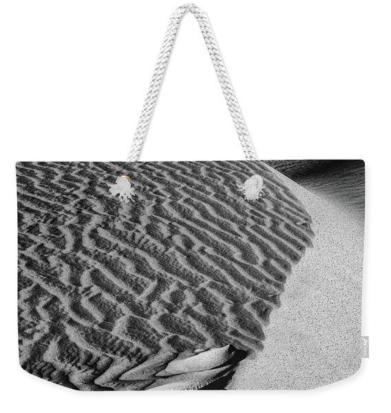 Weekender Tote Bag featuring the photograph S-s-sand by Laura Roberts