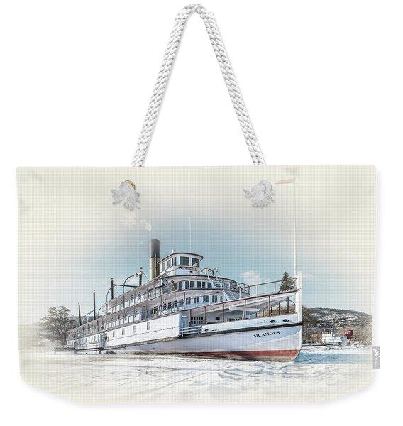 S. S. Sicamous II Weekender Tote Bag