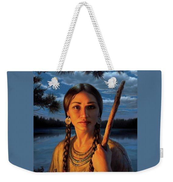 Sacagawea Weekender Tote Bag