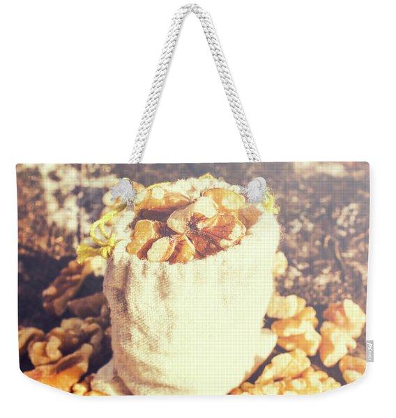 Sack Of Country Walnuts Weekender Tote Bag
