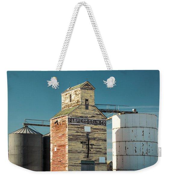 Saco Grain Elevator Weekender Tote Bag