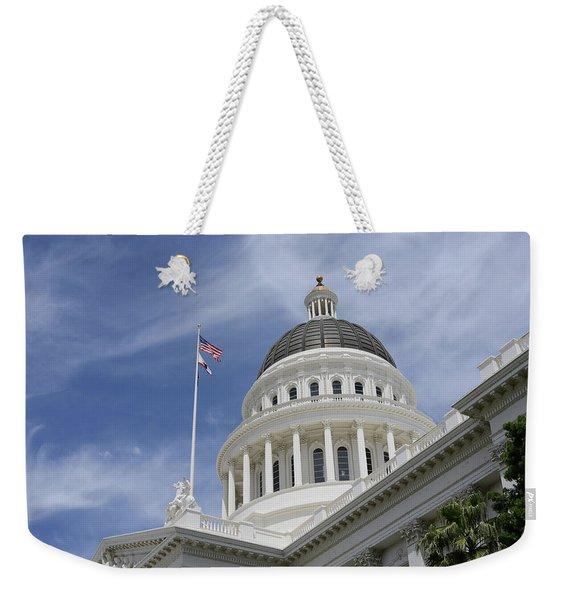 Sacramento Capitol Building Weekender Tote Bag