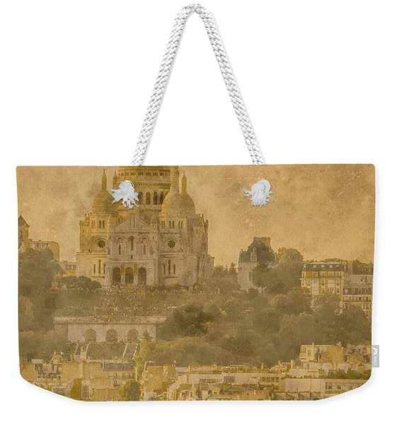 Paris, France - Sacre-coeur Oldplate Weekender Tote Bag