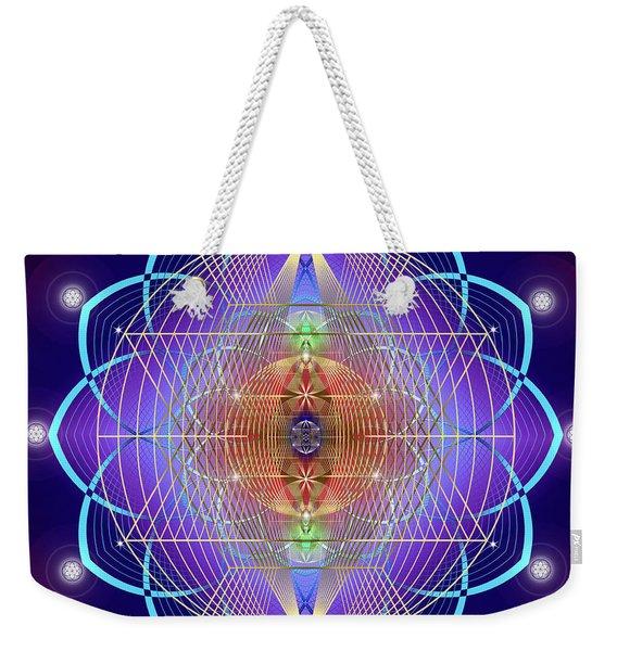 Sacred Geometry 641 Weekender Tote Bag