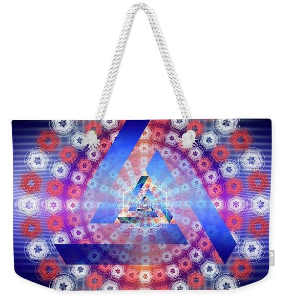 Sacred Geometry 646 Weekender Tote Bag
