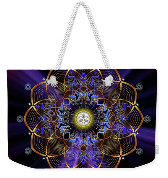 Sacred Geometry 647 Weekender Tote Bag