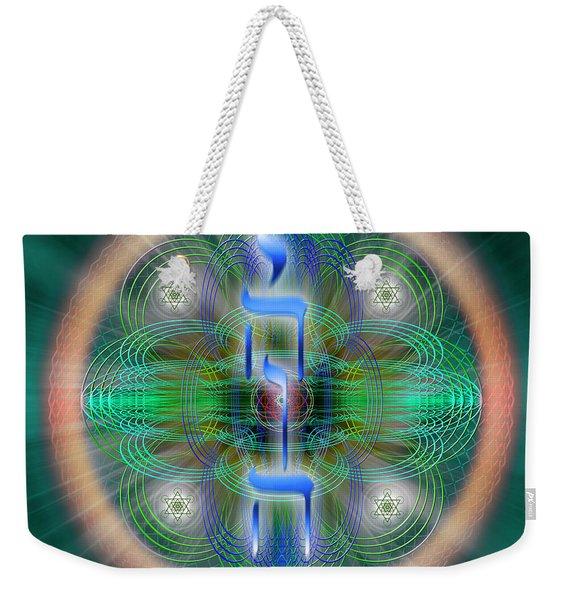 Sacred Geometry 648 Weekender Tote Bag