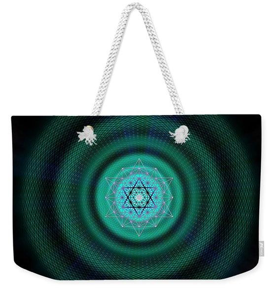 Sacred Geometry 651 Weekender Tote Bag