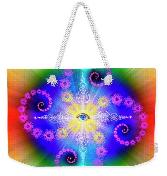 Sacred Geometry 653 Weekender Tote Bag