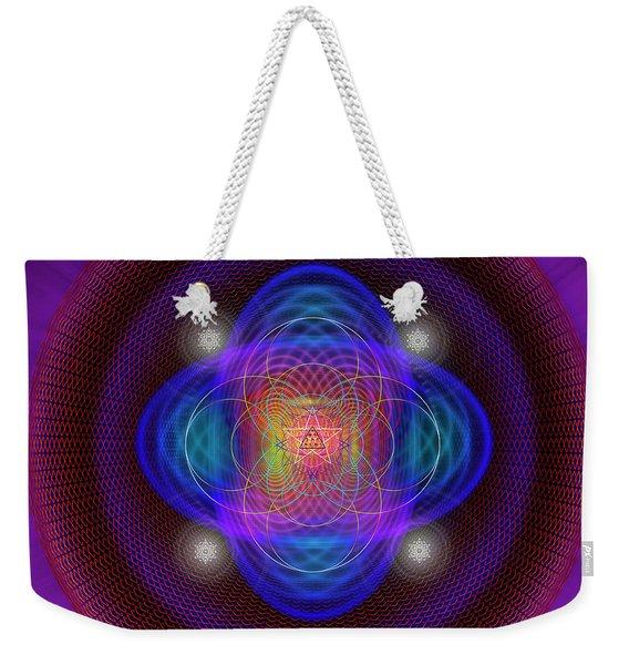 Sacred Geometry 654 Weekender Tote Bag