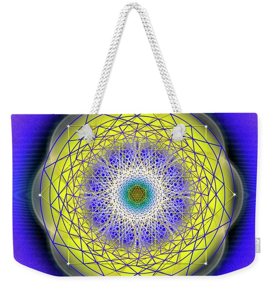 Sacred Geometry 655 Weekender Tote Bag
