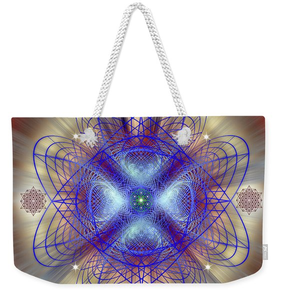 Sacred Geometry 656 Weekender Tote Bag